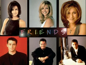 friends tv show characters