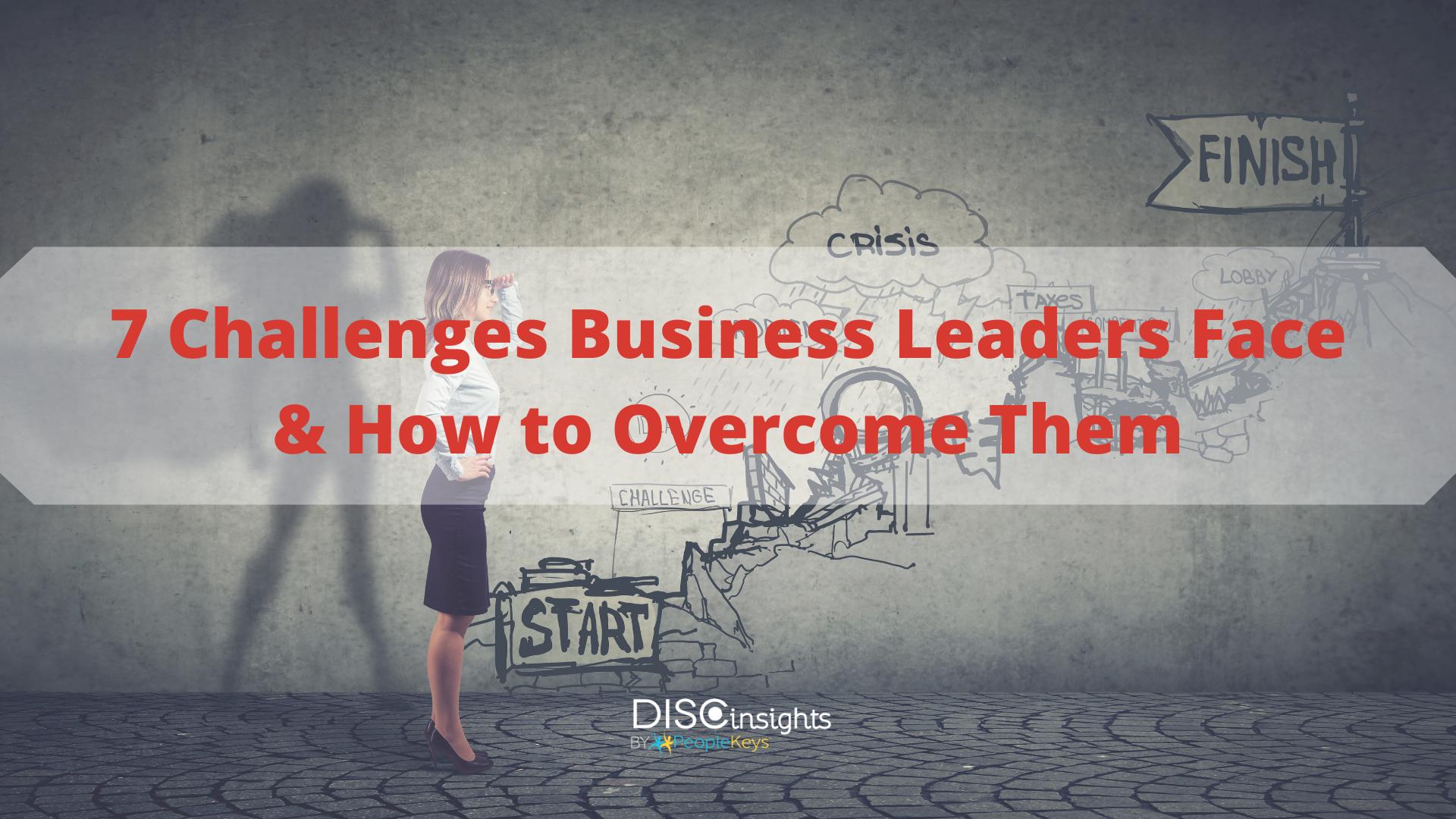 DISC Leadership Challenges